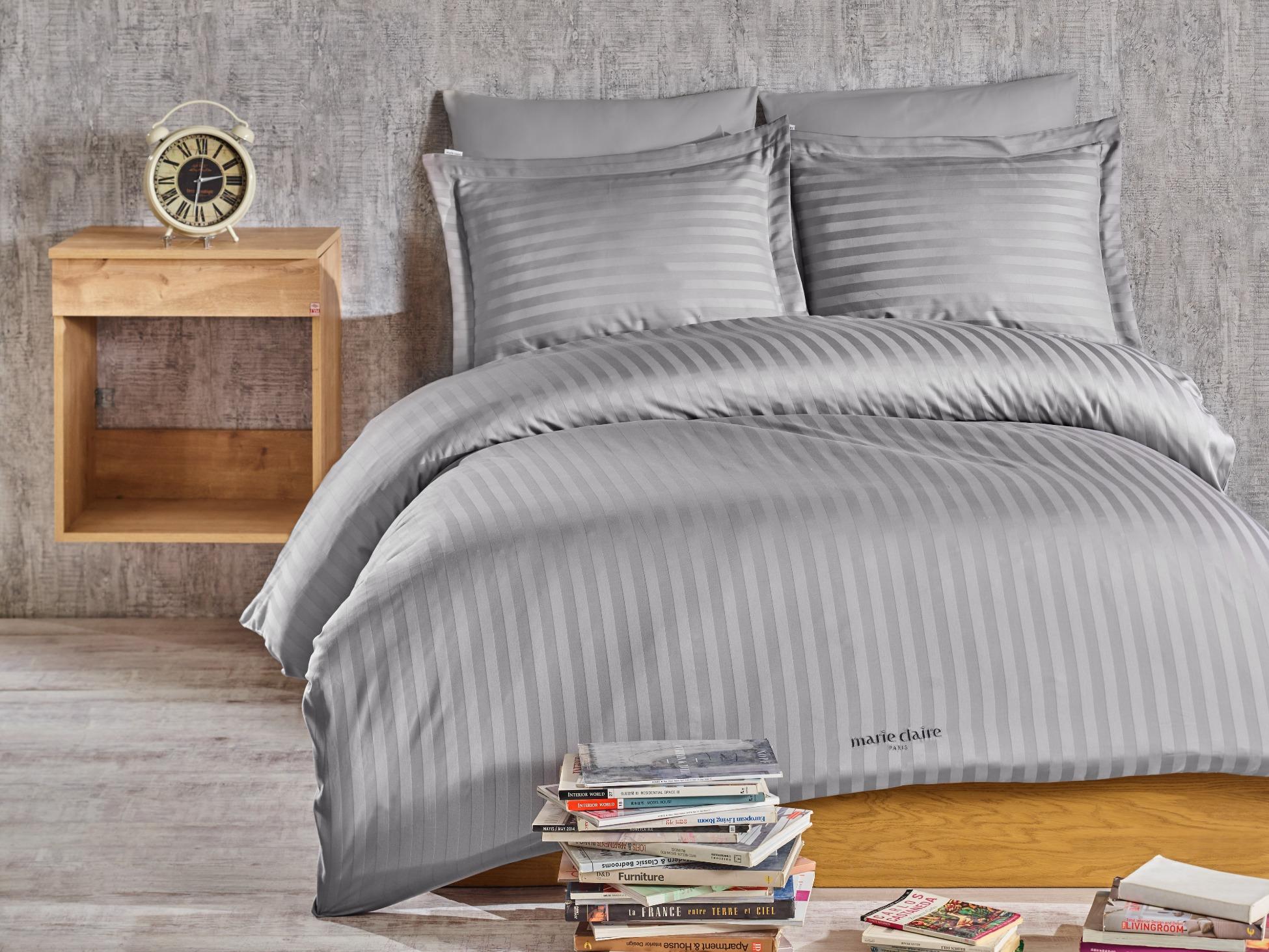 37ea01f4b0df8 Комплект постельного белья Marie Claire VOGUE GRAY из сатина купить ...